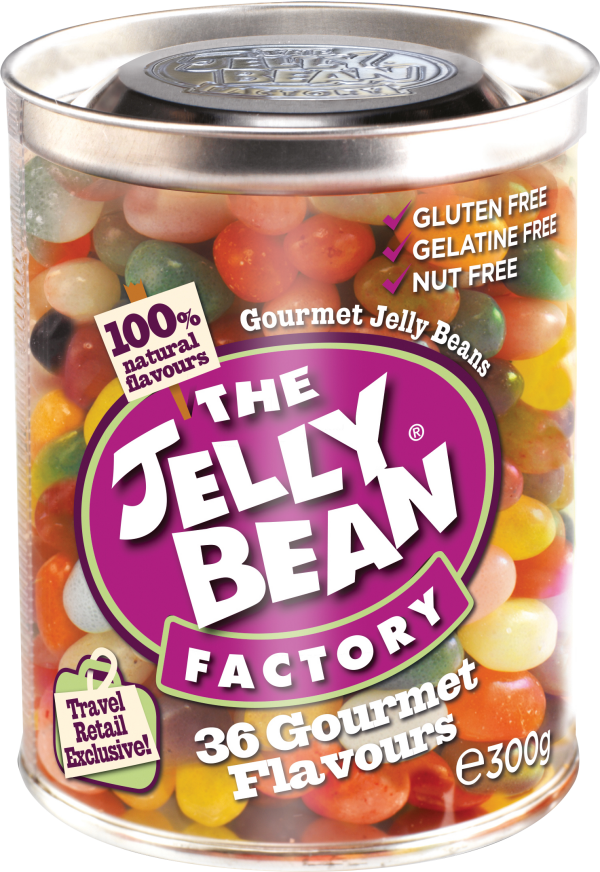 The Jelly Bean Factory Gourmet Mix Can